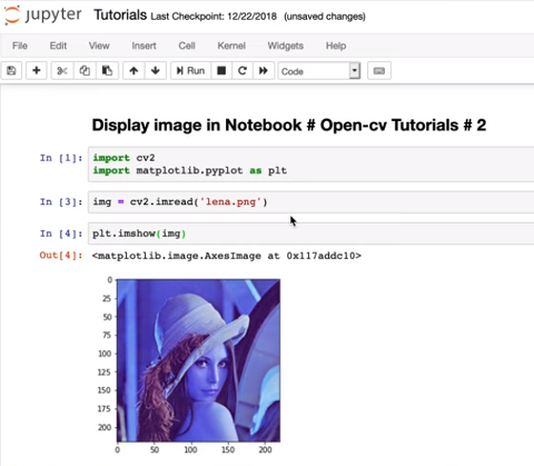 HowTo] OpenCV Tutorial # 3 : How to display image in