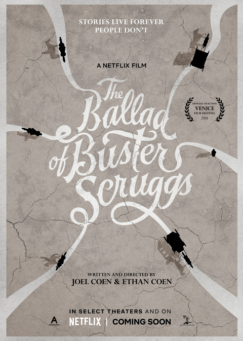 NETFLIX FILM  카우보이의 노래 The Ballad of Buster Scruggs 2018