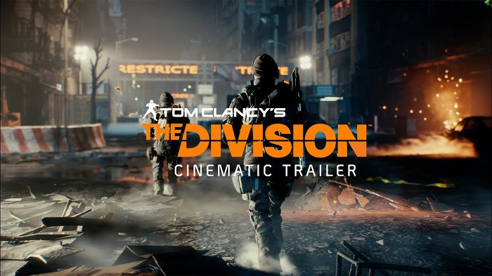 Tom Clancy's The Division Cinematic Trailer