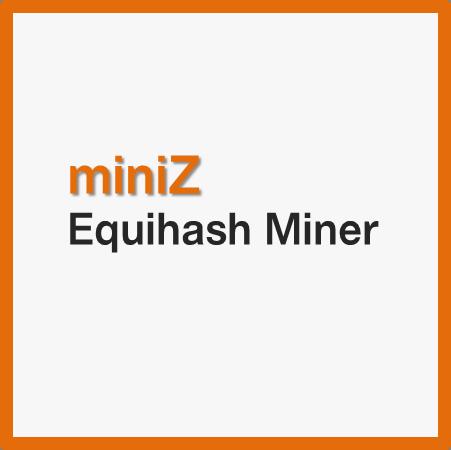 miniZ miner