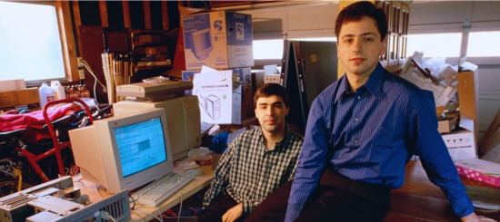 Google history Larry Page Sergey Brin