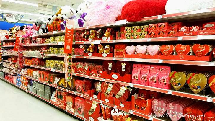 발렌타인데이 선물입니다