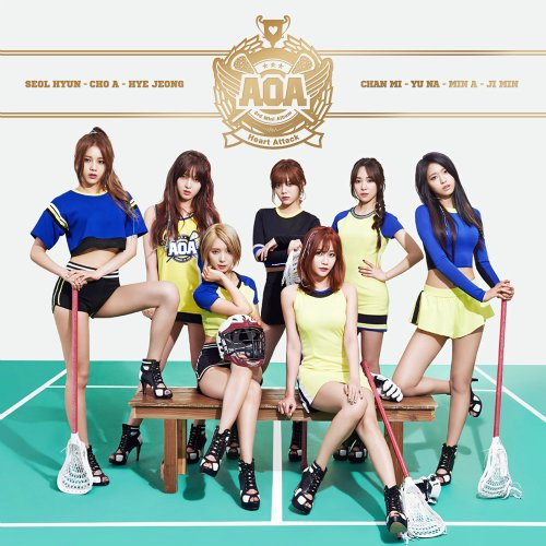 AOA – Heart Attack Lyrics [English, Romanization]