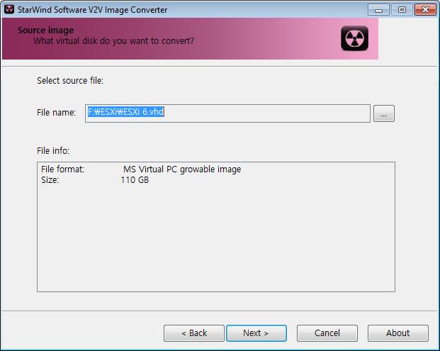 StarWind V2V Image Converter