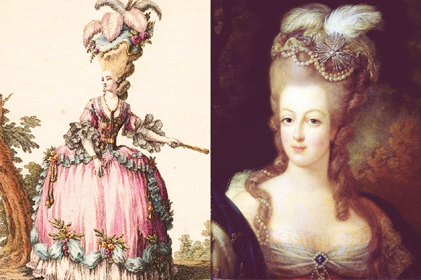 마리앙투아네트 빅 헤어 Marie Antoinette Big hair histroy