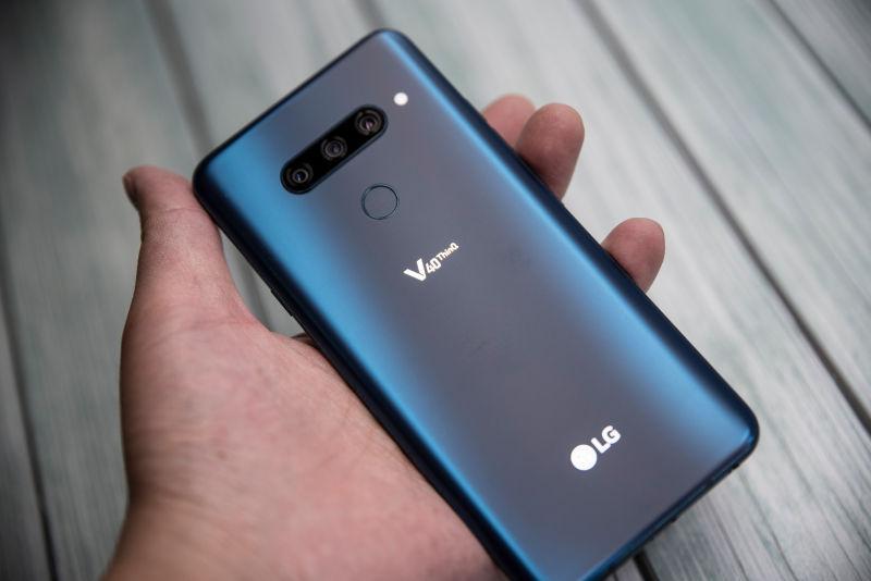 LG V40 ThinQ 뉴 모로칸 블루 개봉기
