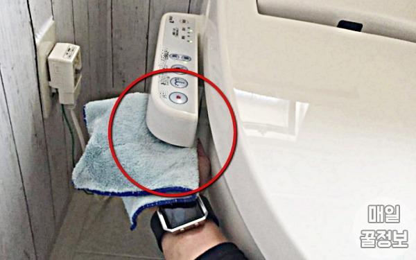 조작판, 비데 청소 방법, 화장실 냄새 없애는 방법
