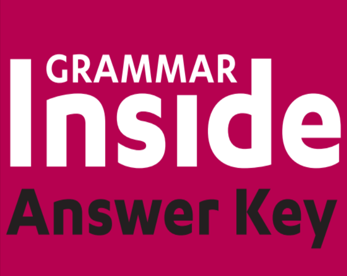 grammar inside level 3 답지