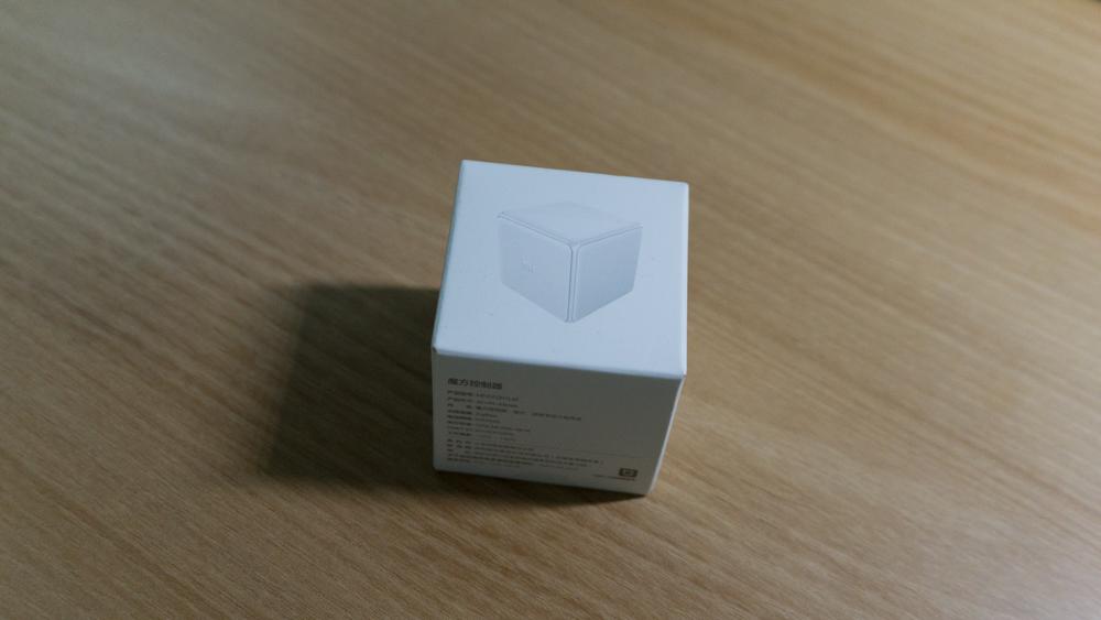 샤오미 큐브 컨트롤러 패키지 다른 면