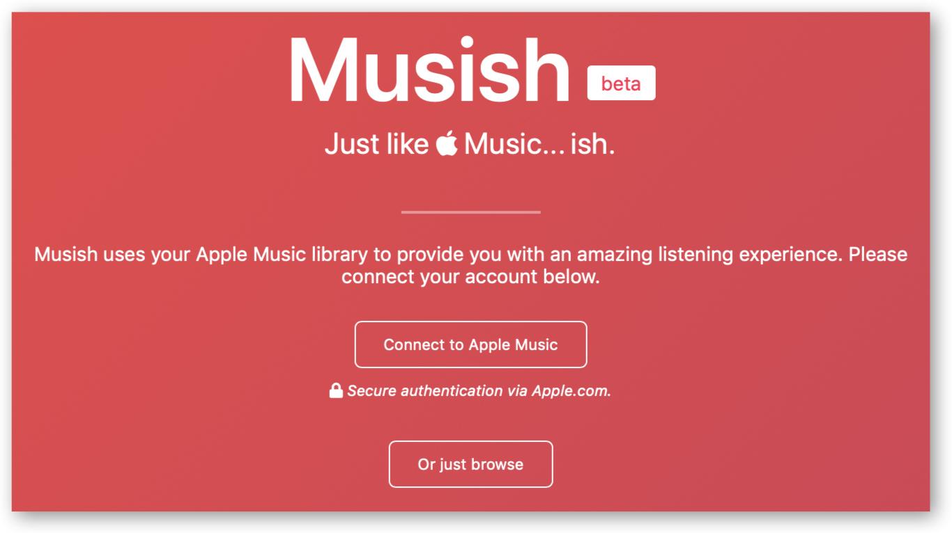 Musish beta 홈페이지 TITLE