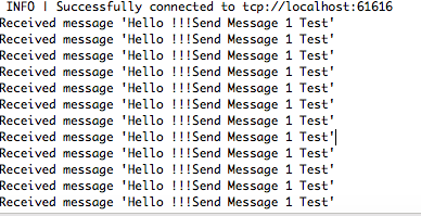 activeMQ (6) - 서버 구현 및 메시지 송수신 테스트