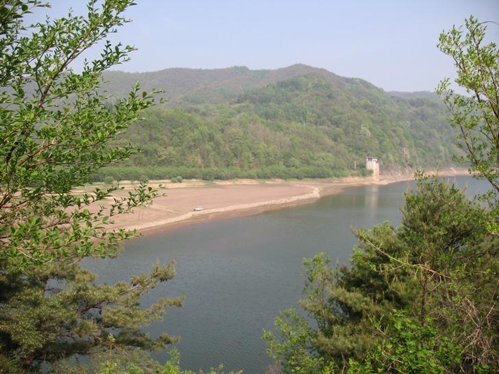 임하댐 붕어낚시 포인트 - 지촌교