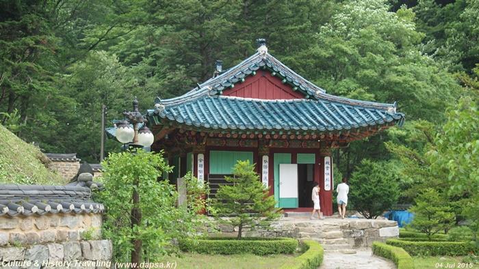 함백산 정암사, 전국 5대 적멸보궁