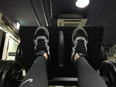 Leg Press-High Food Placement
