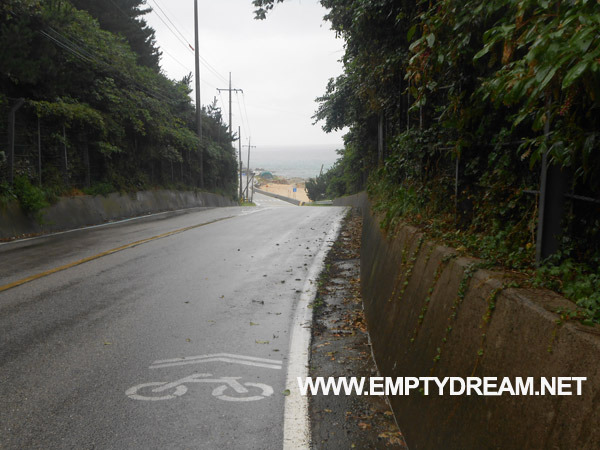 동해안 자전거길: 후포 - 월송정 - 망양휴게소 - 울진 은어다리 인증센터