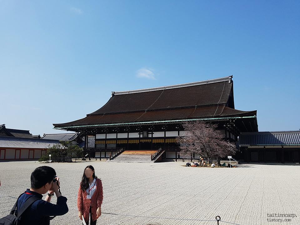 교토고쇼 성 내부