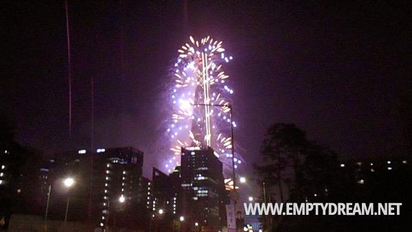롯데월드타워 불꽃축제