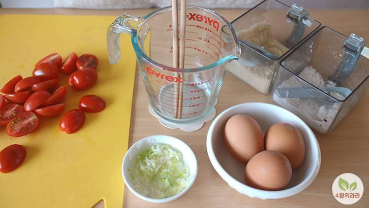 토마토달걀볶음_아침식사_달걀요리