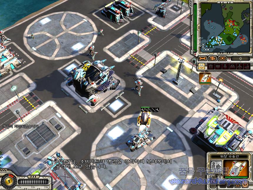 Red Alert 3 Uprising(레드얼럿 3 업라이징) 욱일제국군 게임 화면