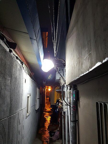 서울 심야시간 사진