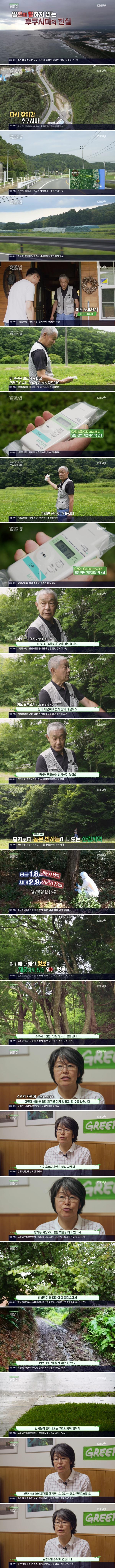 일본이 말하지 않는 후쿠시마의 진실 (kbs 베짱이)