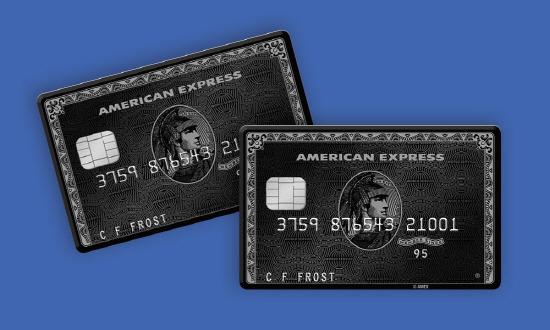 American Express Centurion Card Black Card