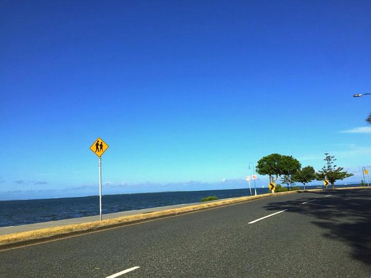 위넘 브리즈번 바다