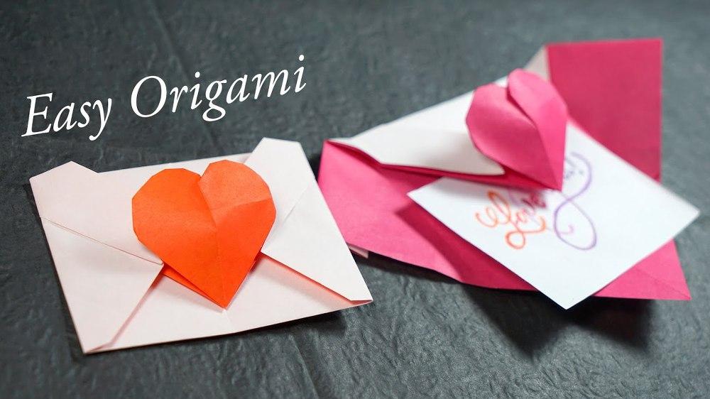 Heart's Letter   Origami heart, Origami easy, Origami envelope   562x1000