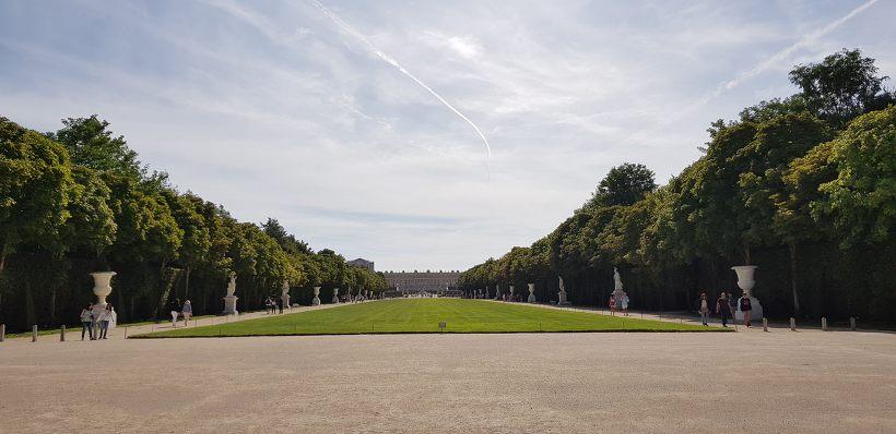 베르사유 궁전 정원 잔디밭