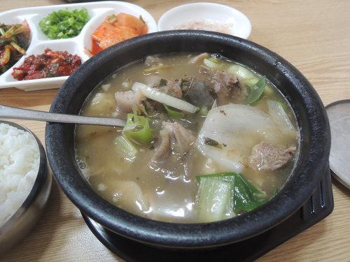 진천 순대국밥 맛집 맹동집