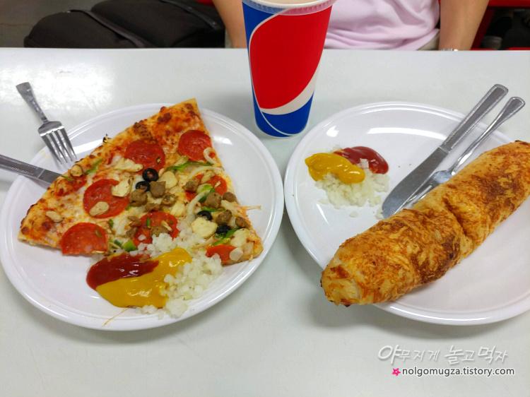 코스트코 푸드코트 피자