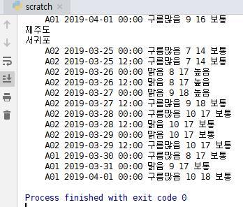 파이썬 기상청 xml