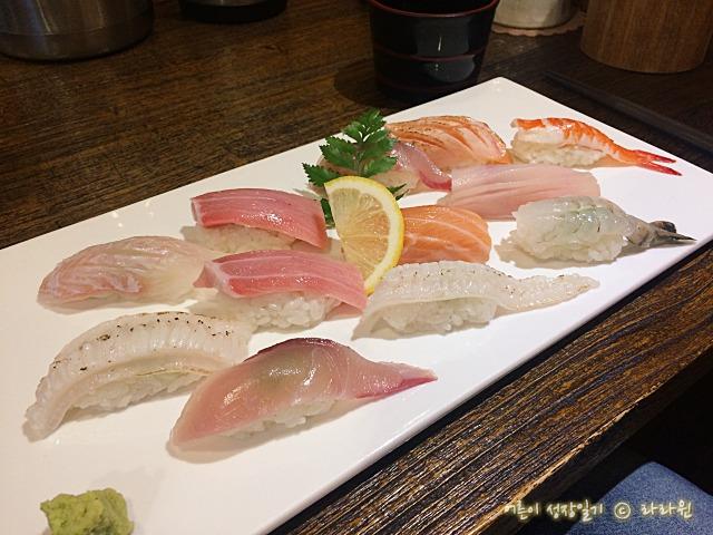스시사에 특초밥