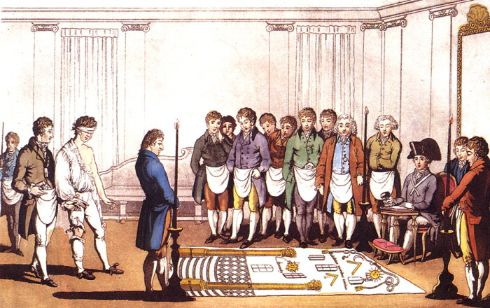 Freemasonry-initiation