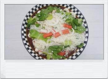 쌀국수 비빔면 완성