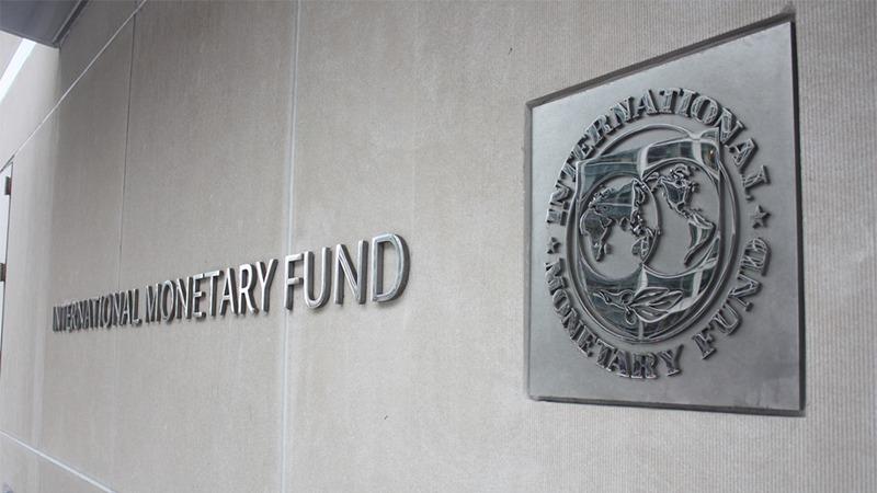 사진: IMF(아이엠에프) 건물의 로고. 한국은 IMF 원인을 진단받아야 했다
