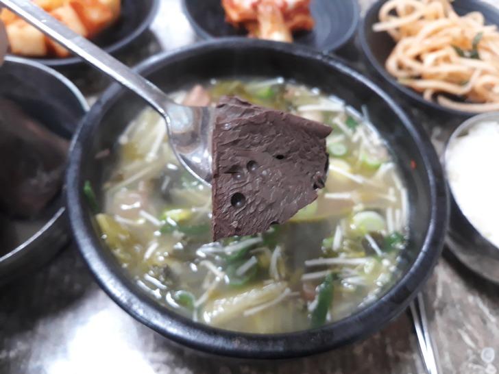 [수원맛집]유치회관 - 백종원 3대천왕 선지해장국 맛집