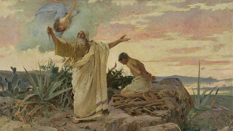 사진: 이슬람교와 기독교의 믿음의 아버지 아브라함