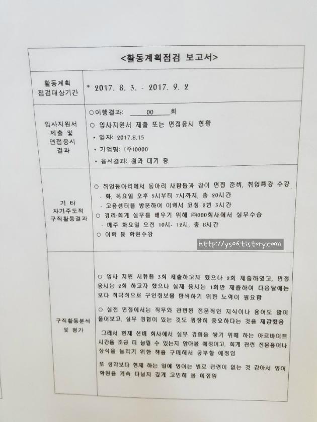 [취업성공패키지] 취성패 3단계 보고서