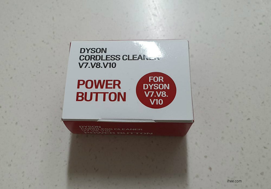 DYSON CORDLESS CLEANER V7 V8 V10 POWER BUTTON