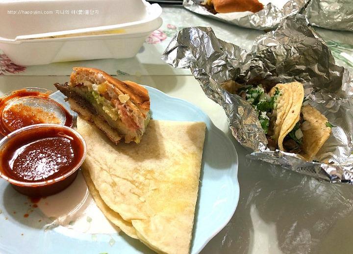 LA에 왔다면 꼭 가야할 멕시칸 식당 엘 타우리노[ El Taurino / 엘에이 맛집] 타코 퀘사디아 톨타