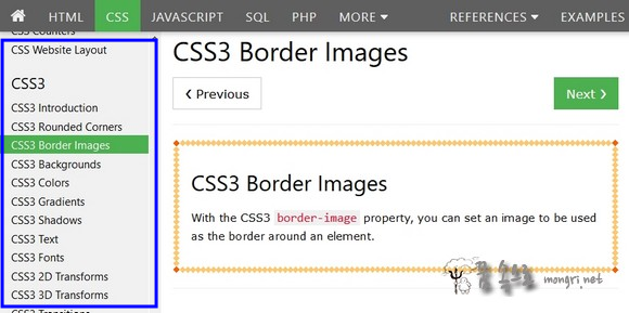 css3 border images