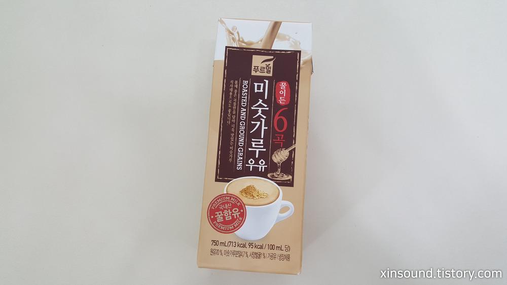 푸르밀 미숫가루우유