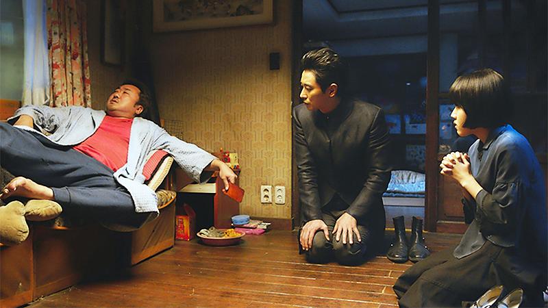 주지훈과 김향기가 마동석을 찾아간다