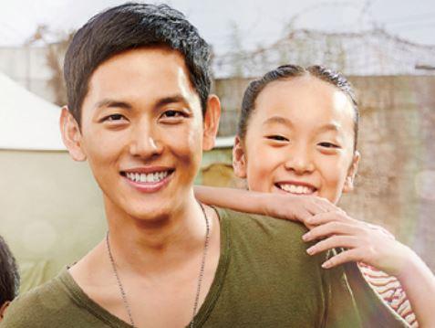 영화 오빠생각 포스터의 김푸름