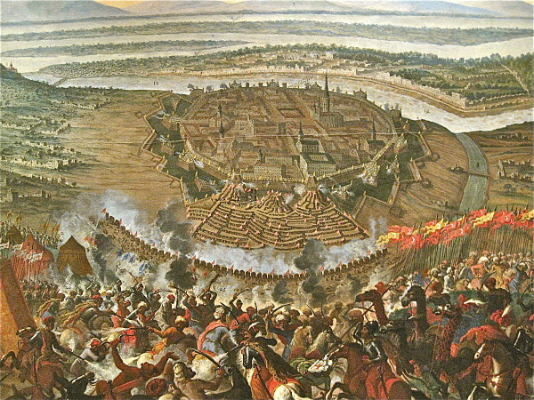 Painting-The-Turkish-Siege-of-Vienna