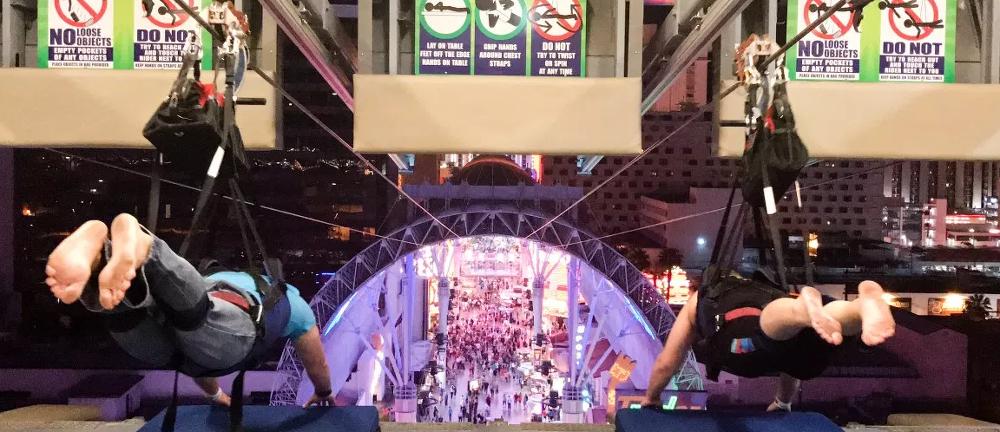 라스베이거스에서 즐기는 액티비티 탑5 ㅣ 슬롯질라 짚라인 라스베가스 super man zip line