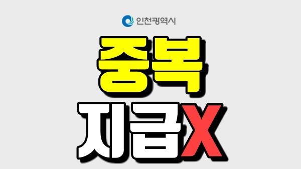 인천시 재난긴급생활비