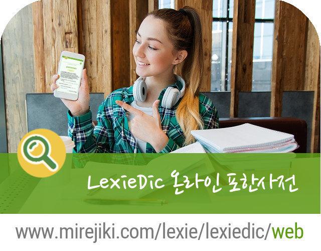 [프로젝트] LexieDic 온라인 포한사전 - 웹 버전