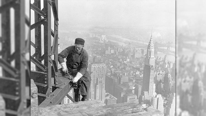 사진: 경제는 강했지만 부자에게만 돈이 몰려서 노동자의 삶은 크게 달라지지 않았다.